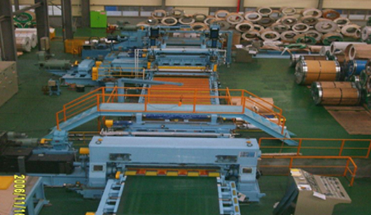 Cold Rolled Shearing Line